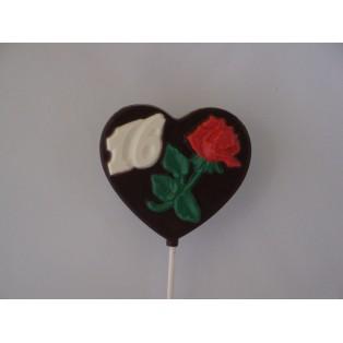 Rose in Heart Shaped Sweet 16 Pop