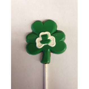 Double Shamrock with Hat Pop
